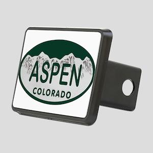 Aspen Colo License Plate Rectangular Hitch Cover