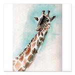 giraffe.jpg Square Car Magnet 3