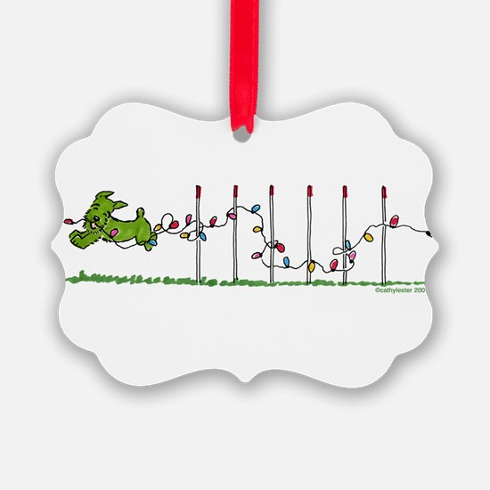 Agility Christmas Lights Ornament