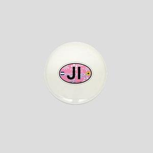 Jekyll Island GA - Oval Design. Mini Button