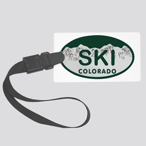 Ski Colo License Plate Large Luggage Tag