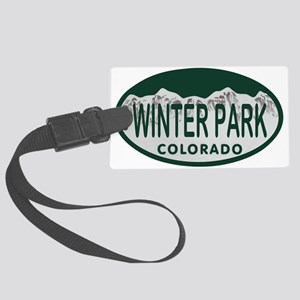 Winterpark Colo License Plate Large Luggage Tag
