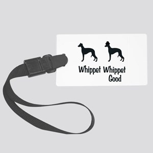 Whippet Good Large Luggage Tag