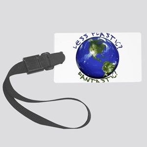 Less Plastic? Fantastic! Large Luggage Tag