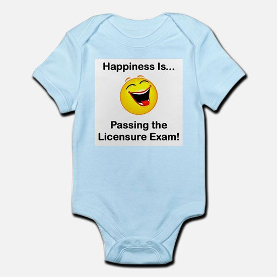 Happiness is Licensure Infant Creeper