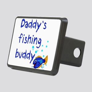 Daddy's Fishing Buddy Rectangular Hitch Cover