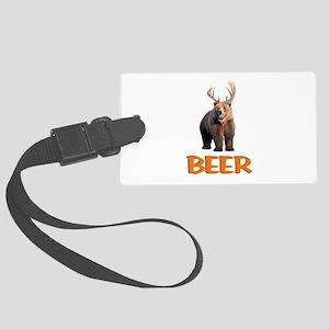 Beer Large Luggage Tag