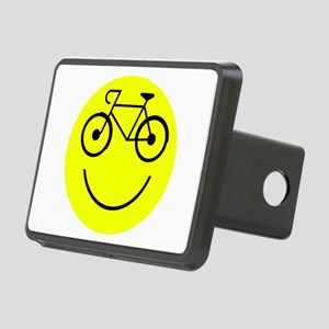 Smiley Cycle Rectangular Hitch Cover