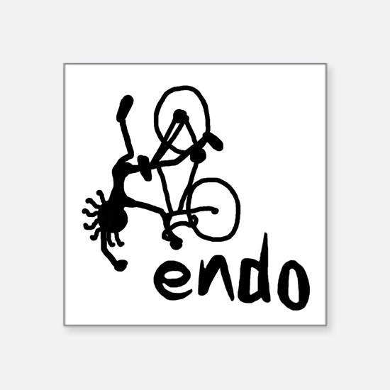 """Endo Square Sticker 3"""" x 3"""""""