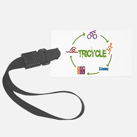 Tri Cycle Luggage Tag