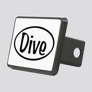 Dive Oval Rectangular Hitch Cover