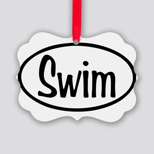 swim Picture Ornament