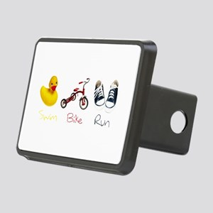 Baby Tri Rectangular Hitch Cover