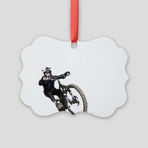 Velo_tout-terrain_front Picture Ornament