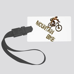 Mountain Bike Downhill Large Luggage Tag