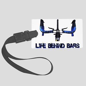Life Behind Bars Large Luggage Tag