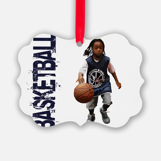 Cute Streetball Ornament