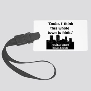 High City Large Luggage Tag