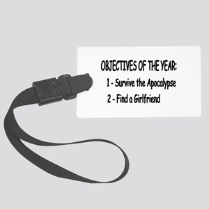 Geek Objectives Large Luggage Tag