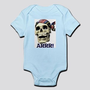 Pirate Skull Infant Creeper