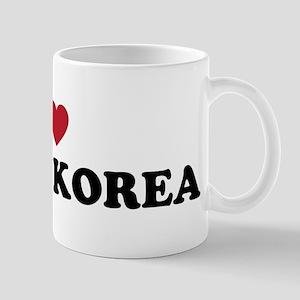 I Love North Korea Mug