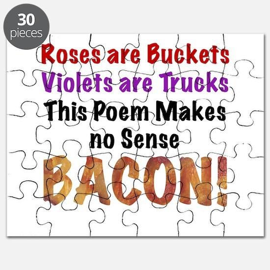 Colorful Bacon Poem Puzzle
