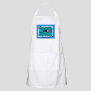 Nurse Blanket blue Apron