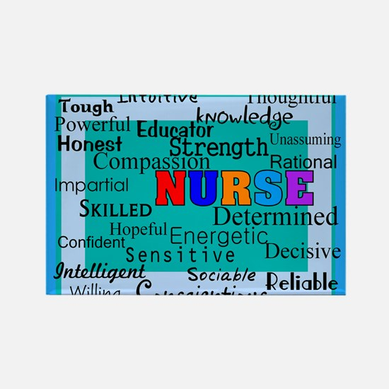 Nurse Blanket blue.PNG Rectangle Magnet (10 pack)