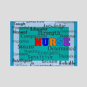 Nurse Blanket blue Rectangle Magnet