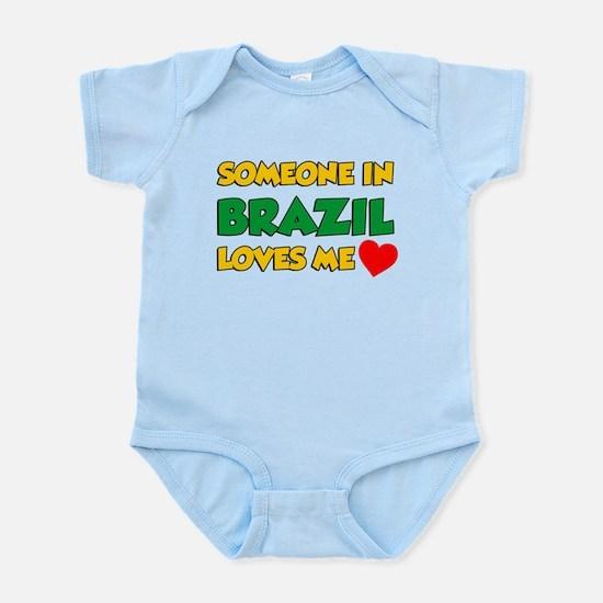 Someone In Brazil Loves Me Infant Bodysuit