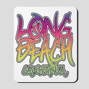 Long Beach Graffiti Mousepad