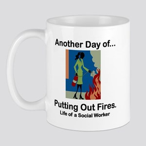 Life of a Social Worker Mug