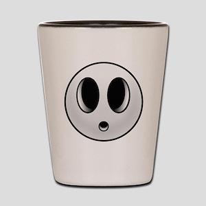 Shy Mask Shot Glass