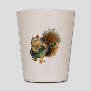 Squirrel Ukulele Shot Glass