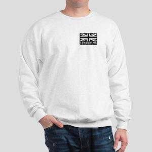 English union jack flag hype Sweatshirt