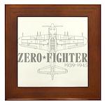 ZEROFIGHTER3 Framed Tile