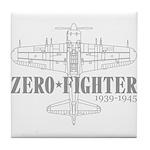 ZEROFIGHTER3 Tile Coaster