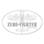 ZEROFIGHTER3 Sticker (Oval 50 pk)