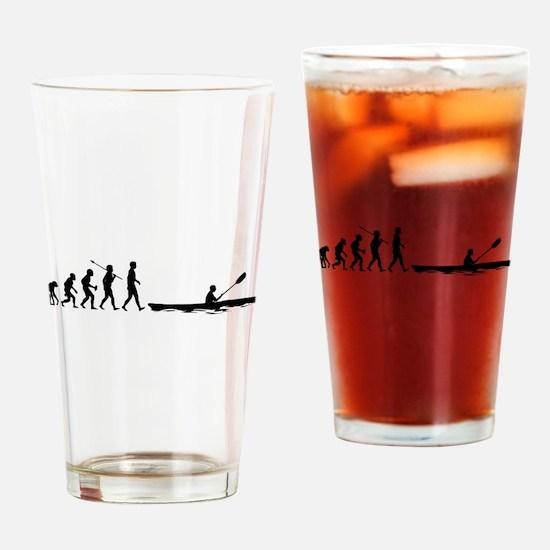 Kayaking Drinking Glass