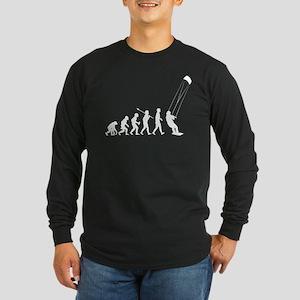 Kiteboarding Long Sleeve Dark T-Shirt