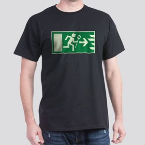 devils emergency exit Dark T-Shirt