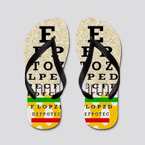 Eye Chart FF 6 Flip Flops