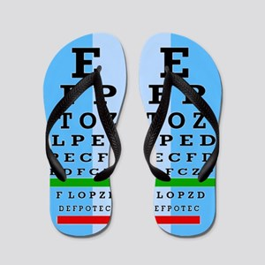 Eye Chart FF 1 Flip Flops