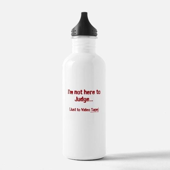 Video not Judgement Water Bottle