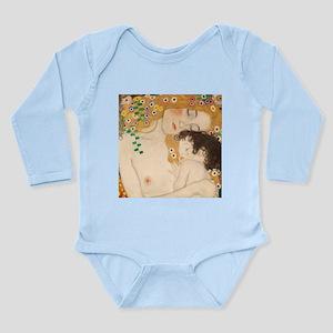 Gustav Klimt Mother And Child Long Sleeve Infant B