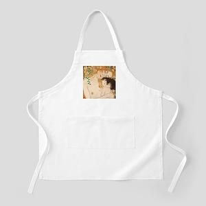Gustav Klimt Mother And Child Apron