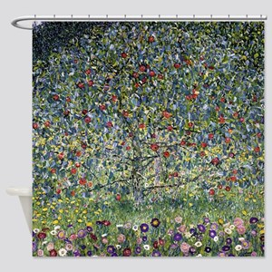 Gustav Klimt Apple Tree Shower Curtain
