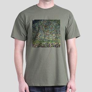 Gustav Klimt Apple Tree Dark T-Shirt