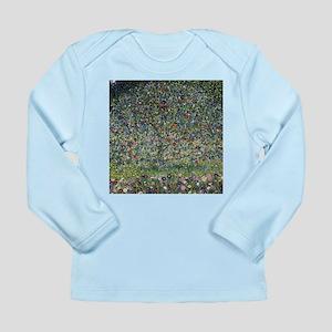 Gustav Klimt Apple Tree Long Sleeve Infant T-Shirt