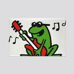 frog n roll 07-2011 A 3c Rectangle Magnet